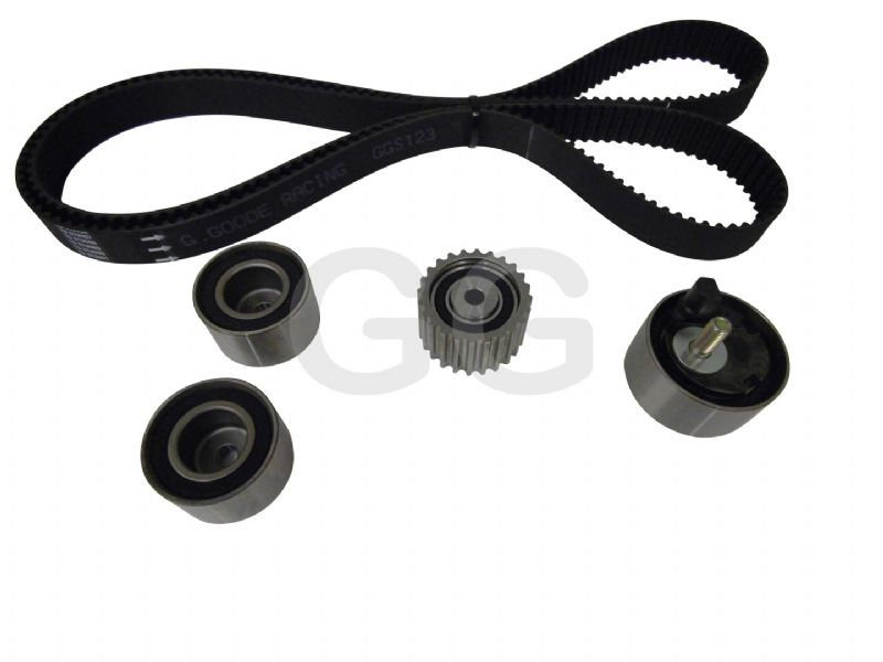 Impreza Turbo WRX STi Cam Timing Belt Kit 1993-1996 V1 V2 V3 Belt x4 Tensioner Pulleys GGS123TBK4